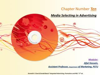 Chapter Number  Ten Media Selecting in Advertising