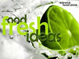 Warwick Food & Drink  presents...