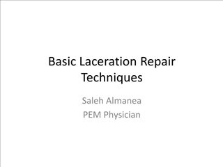 basic laceration repair techniques