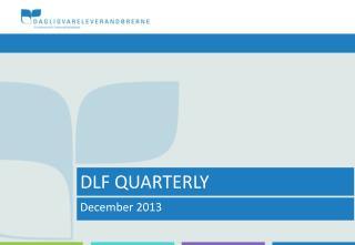 DLF QUARTERLY