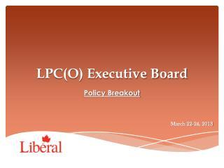 LPC(O) Executive Board