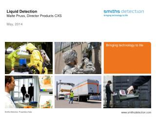 Liquid  Detection Malte Pruss, Director Products CXS M ay, 2014