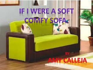 If I were a soft comfy sofa.