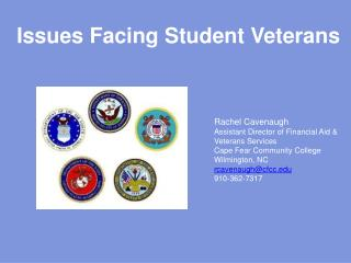 Issues Facing Student Veterans