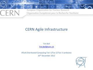 CERN Agile Infrastructure