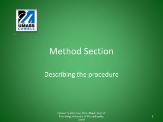 Method Section