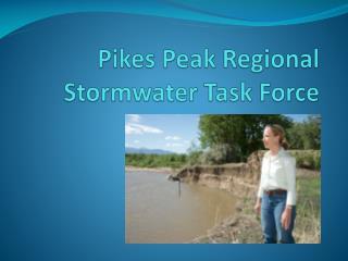 Pikes Peak Regional Stormwater Task Force