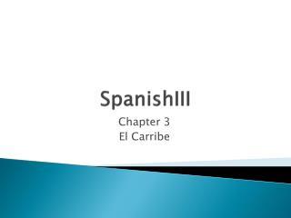 SpanishIII