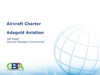 Aircraft Charter Adagold Aviation