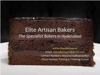 Elite Artisan Bakers The Specialist Bakers in Hyderabad