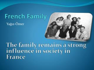 Fre n ch  Family