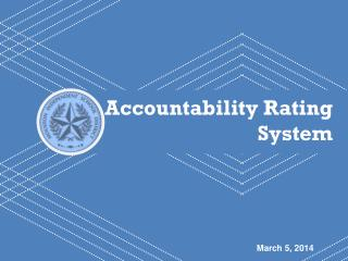 Accountability Rating  System