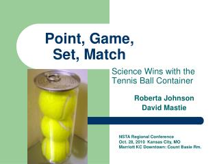 Point, Game,  Set, Match