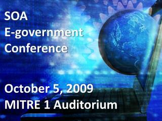 SOA E-government  Conference