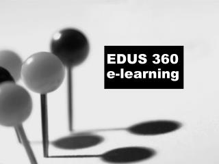 EDUS 360 e-learning