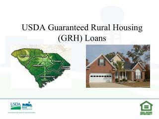 usda guaranteed rural housing grh loans