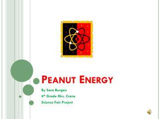 Peanut Energy