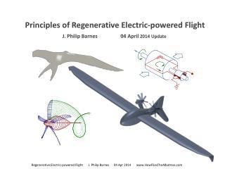 Principles of Regenerative Electric-powered Flight J. Philip  Barnes                   04 April 2014 Update