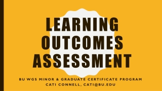 assessment 101: the core curriculum
