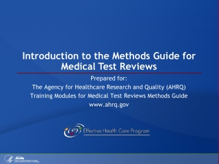 introduction to evidenced based medicine
