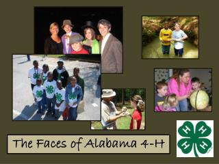 The Faces of Alabama 4-H
