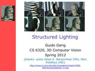 Structured Lighting