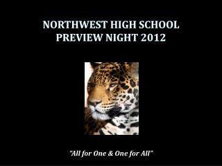 northwest high school preview night 2012