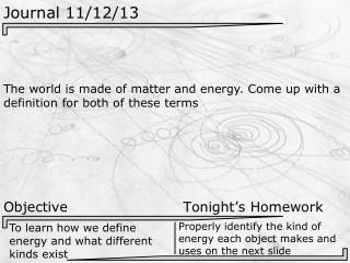 Journal  11/12/13