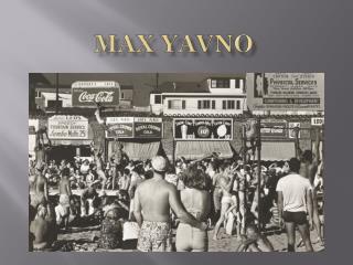 Max  Yavno