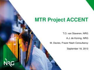 MTR Project ACCENT