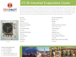 VT-36- Air cooler-Evaporative air cooler-industrial air cool