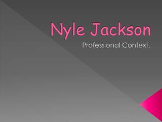 Nyle Jackson