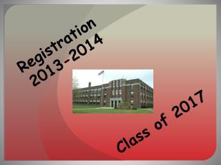 Registration  2013-2014
