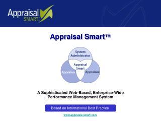 a sophisticated web-based, enterprise-wide  performance management system