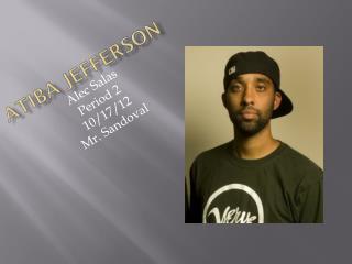 Atiba Jefferson