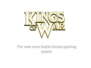 The new mass battle fantasy gaming system