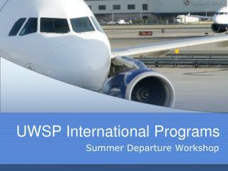 UWSP International Programs