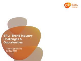 SPL:  Brand Industry Challenges & Opportunities