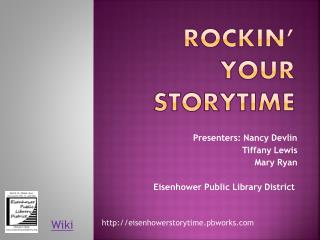 Rockin ' Your Storytime