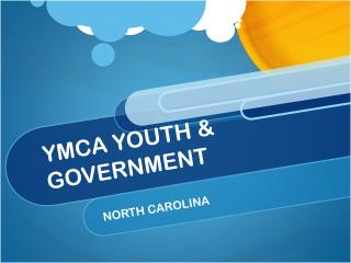 YMCA YOUTH & GOVERNMENT