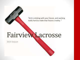 Fairview Lacrosse