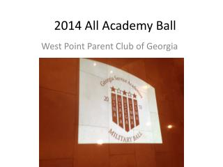 2014 All Academy Ball