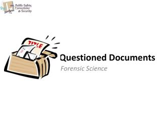 Questioned Documents