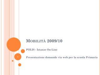 mobilit  2009