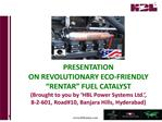 hbl sales presentation for rfc - hbl rentar