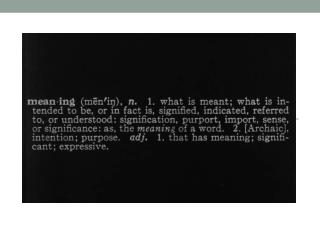 Joseph  Kosuth : The value of particular artists after Duchamp can be weighed according to  how much they questioned th