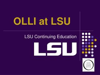 OLLI at LSU