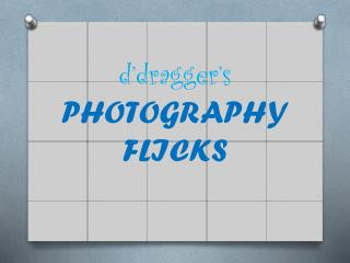 d�dragger�s PHOTOGRAPHY FLICKS