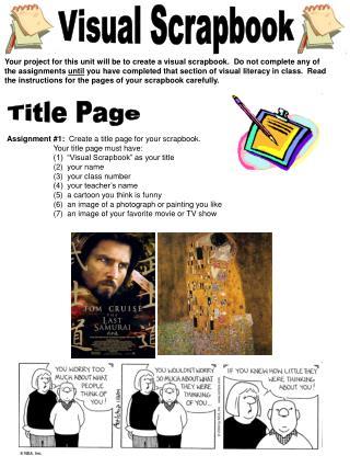 Visual Scrapbook