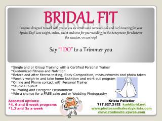 Bridal Fit